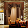 Guangzhou beautiful embossed curtains blackout