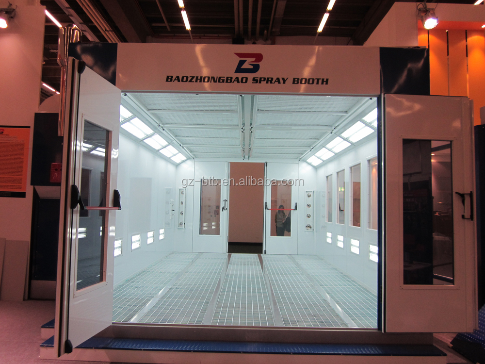 America Standard Car Paint Booth Direct Fire Heating