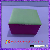 square fabric jewelry box with insert mirror and extra inner layer