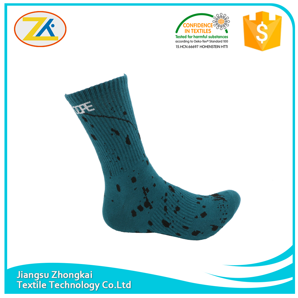 socks wholesale fashion color lake blue comfortable men socks