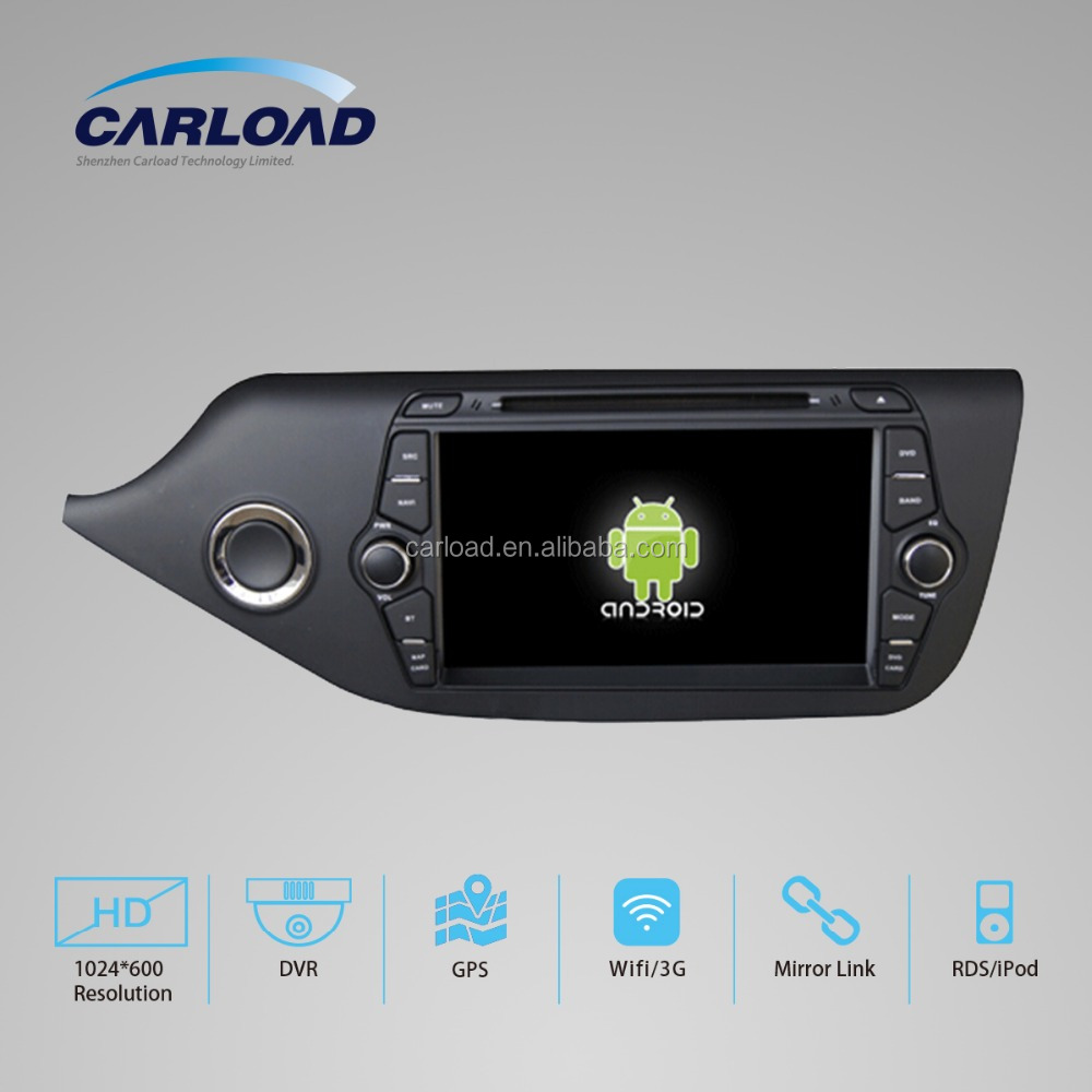 Android 5.1 system car spare parts for Kia Ceed Pride autoradio car stereo with