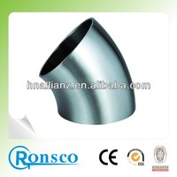 polished finish 304 material stainless steel pipe joint