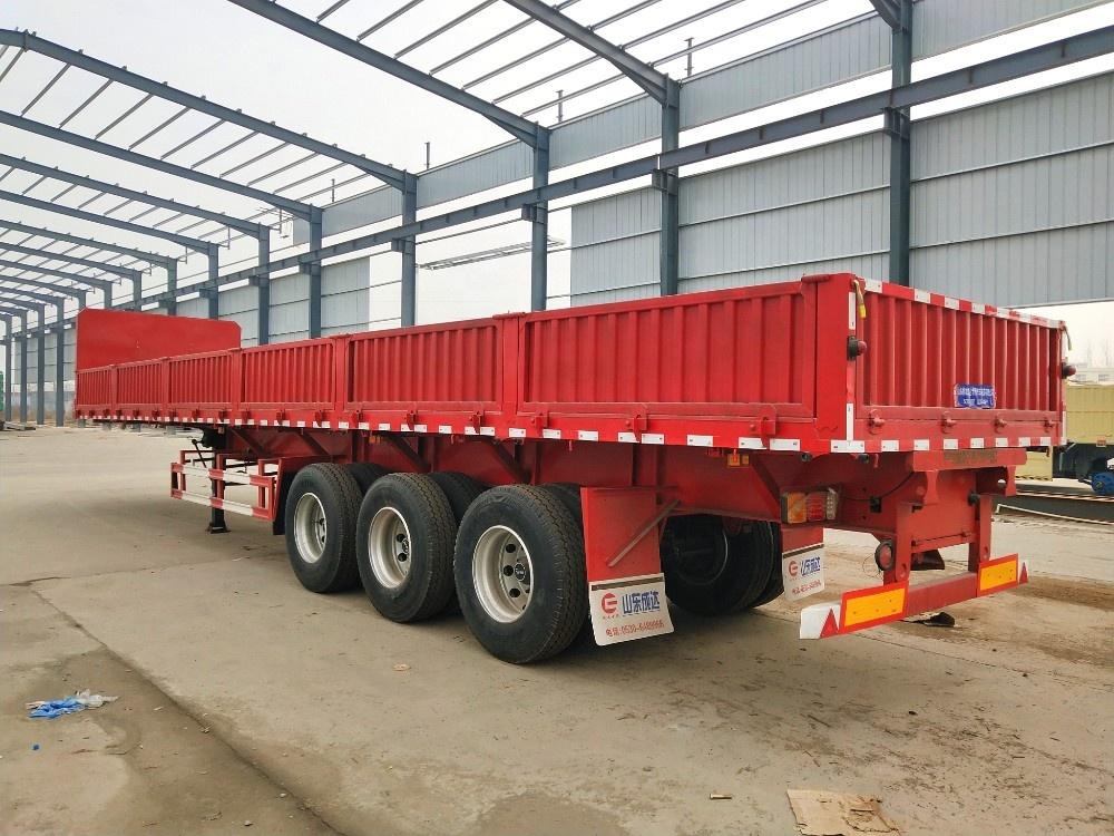 60t Side Wall Sheep Transport Cargo Truck Trailer - Buy