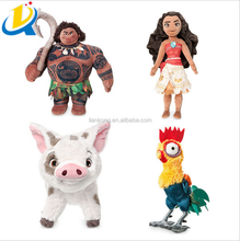 Cartoon Charater Animation Movie High Quality Plush Moana Doll Stuffed Toy