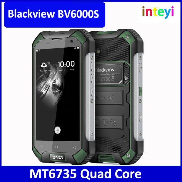 Cheap phone Blackview BV6000S MT6735 Quad Core 4.7inch Android 6.0 13MP Camera 4G LTE Smartphone