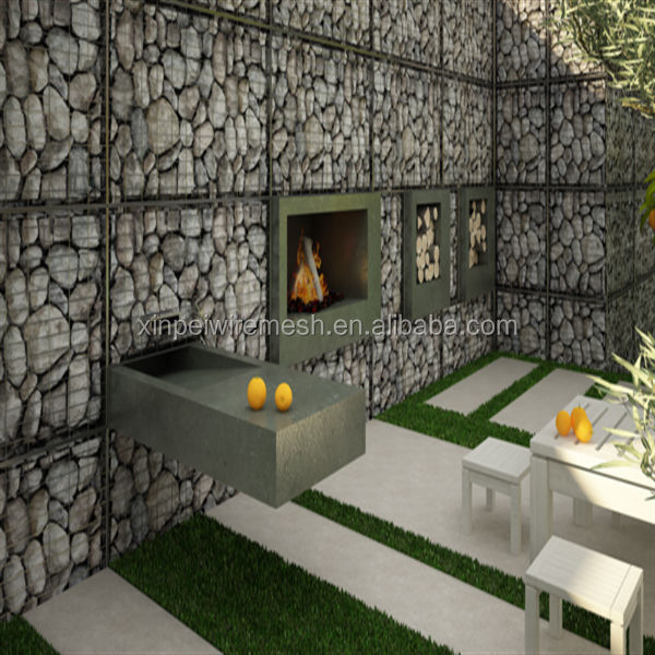 treillis m tallique soud gabion box mur de pierre. Black Bedroom Furniture Sets. Home Design Ideas