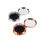 Promotional high quality cute hairbrush and mirror