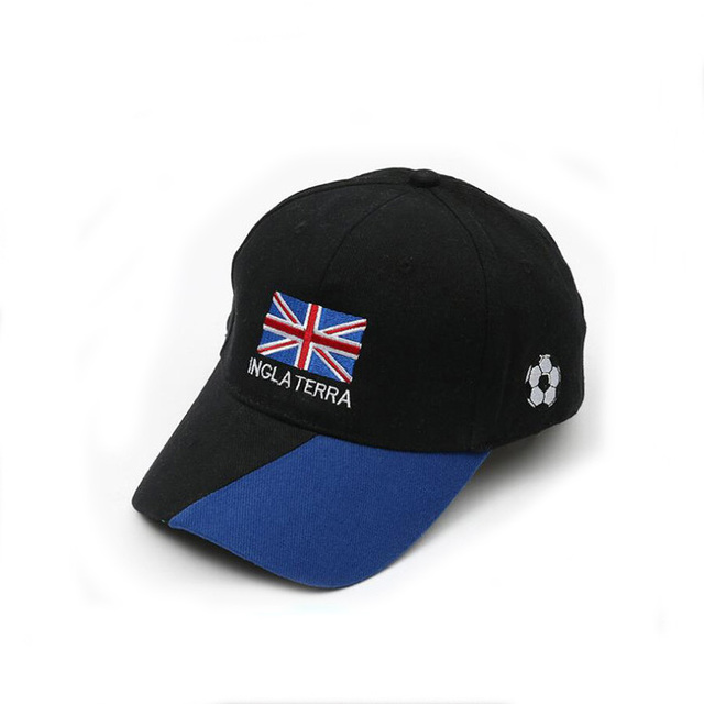 Custom made logo cheap price sports caps England football team baseball cap  for sale 7764897b76d