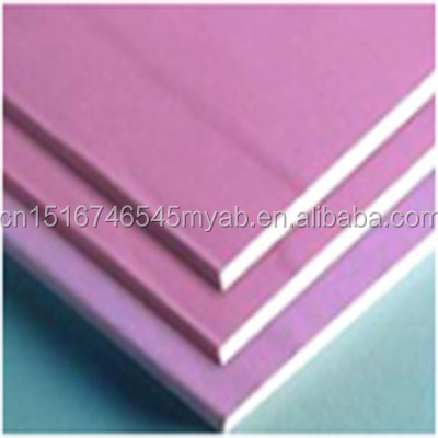 Green color moisture resistant gypsum board buy green for Gypsum colour