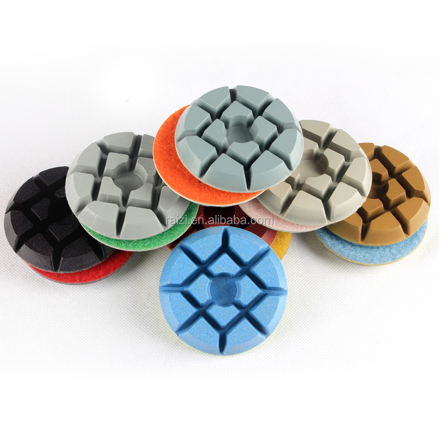 Dry Diamond concrete floor resin polishing pad