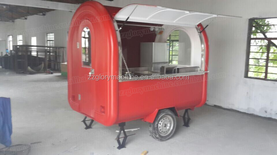 China Wholesale Food Catering Trailer CE Approved Street Mobile Mini Truck