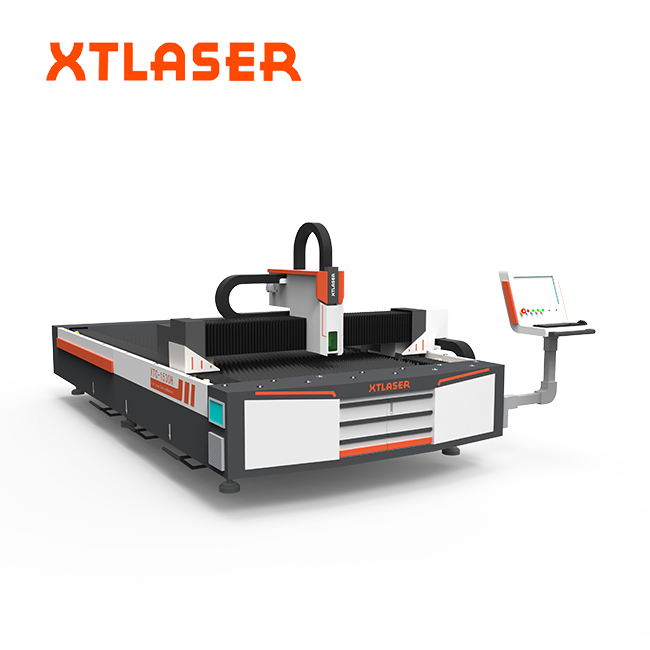 High speed the process of laser cutting for fiber laser cutting machine