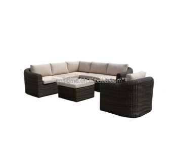 2015 new design sofa furniture garden patio rattan l shaped lounge suite furniture sgy 14146a