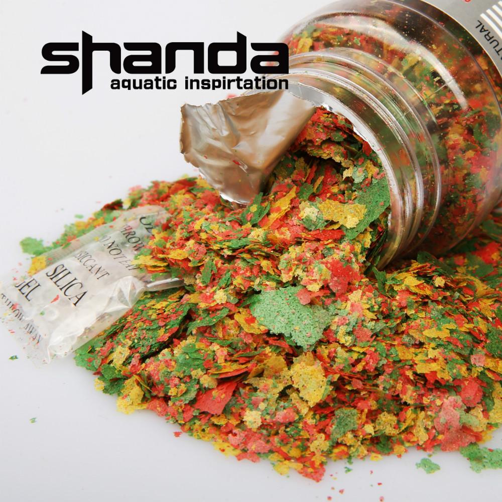 Shanda 10g 20g 50g o 10 kg a granel acuario escamas for Alimentacion para peces de acuario