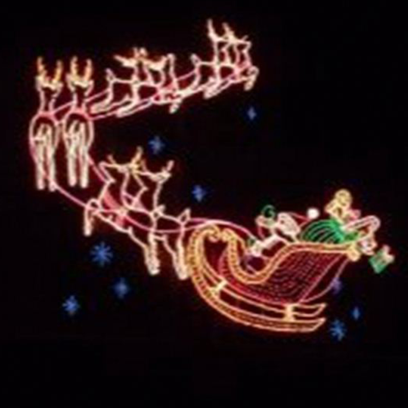 Outdoor Commercial Christmas Decorations Led Santa Reindeer Animated Move Skyline Led Flying Reindeer With Wave Santa Claus Buy Led Santa Reindeer Amimated Move Skyline Led Flying Reindeer With Wave Santa Commercial Christmas Decorations