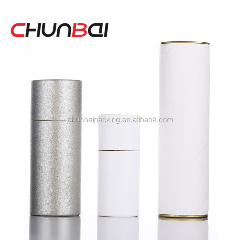 Wholesale Customize Gift Box black Paper Tube white Paper Box For Eliquid Bottles Packaging