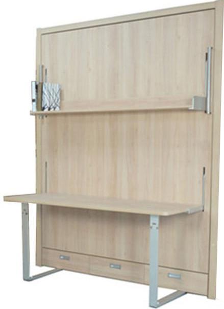 Do It Yourself Home Design: Modern Single Hidden Furniture Murphy Bed Wall Bed Desk