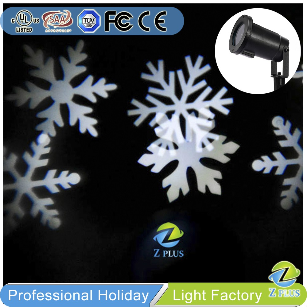 Outdoor Waterproof moving Christmas led snowflake window lights