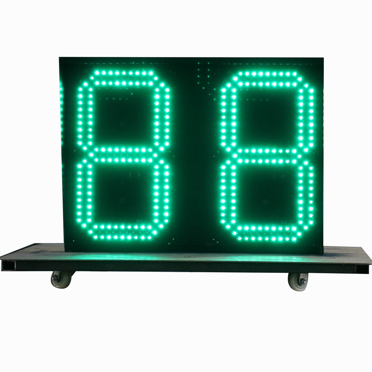 Factory supplier 2 digits led countdown timer customized led display led display for countdown timer