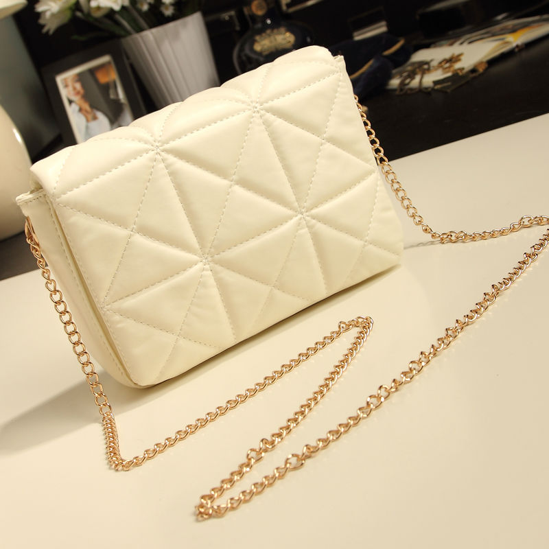 2017 Latest Fashion Women Clutches Shoulder Bag Quilted Messenger Bags Small Vintage Cross Body