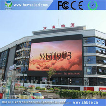 Best price double sided outdoor led sign with clock time date temperature