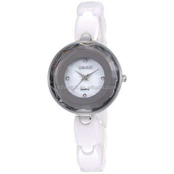 WEIQIN W3227 Simple Style Small Ceramic Watch For Women