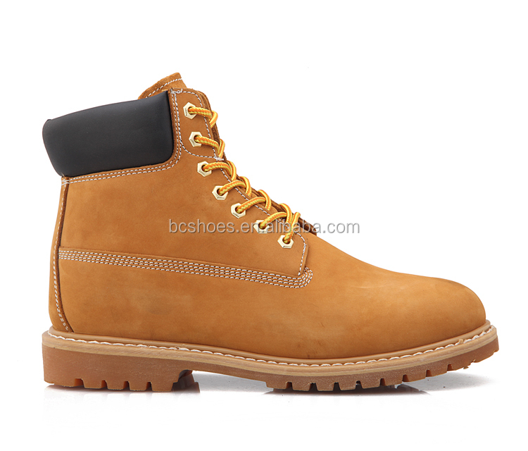 High Quality Nubuck Work Shoes /half Price Boots/black Padded ...