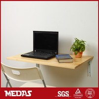 high quality wall mount folding wood table on sale