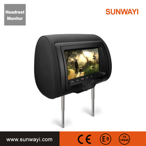 9 inch headrest mount portable DVD player for universal cars