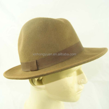 07e3821e747c04 brown color fisherman hat cap bucket hats ladies wool felt hat with high  quality