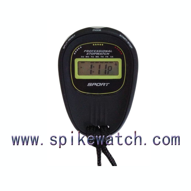 Best sell Single Line Display Electronic mini digital stopwatch