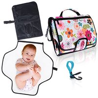 Wholesale waterproof portable diaper changing pad cover set