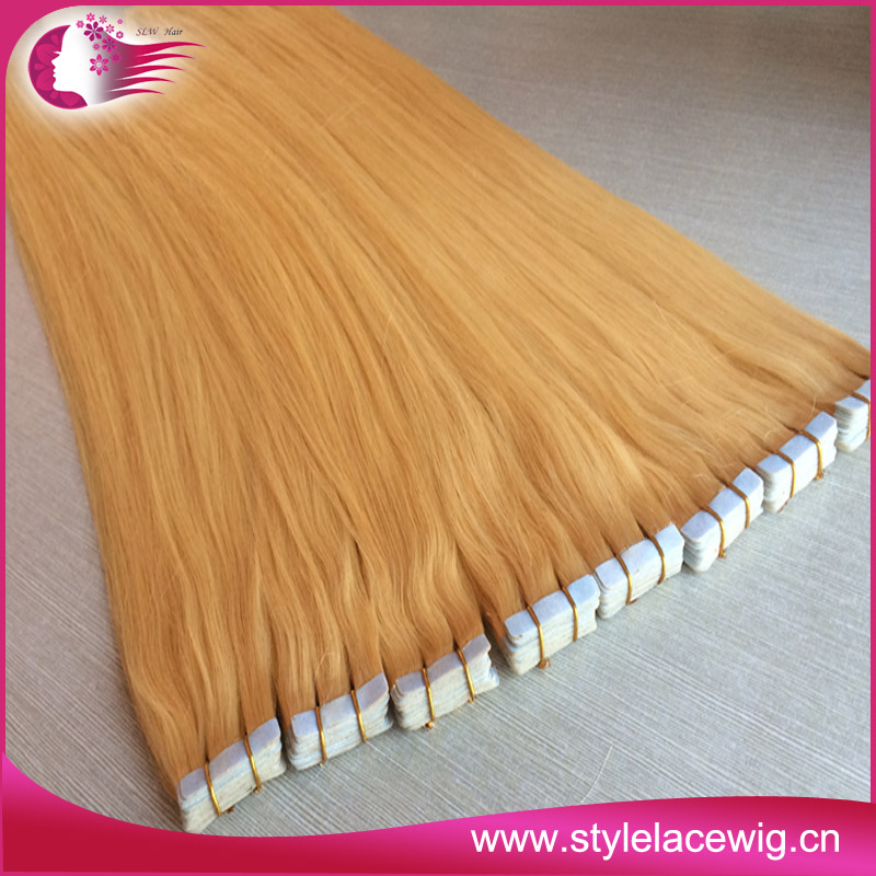 2017 Hot Sale Tape Hair Extensions Remy Tape Hair Extension 40 Pcs