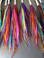 SALE! Lot 100 Grizzly Feathers Hair Extensions Bright Colors 5-7