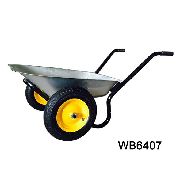 China Hand Tool Concrete Buggy Pneumatic Rubber Wheel Wb6407 Wheelbarrow  Wheel Barrow Used Tractor Tire - Buy Wheel Barrow Making Machinery