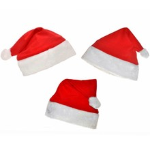 Ordinary Adult / Children Red Christmas Hats Santa Hats