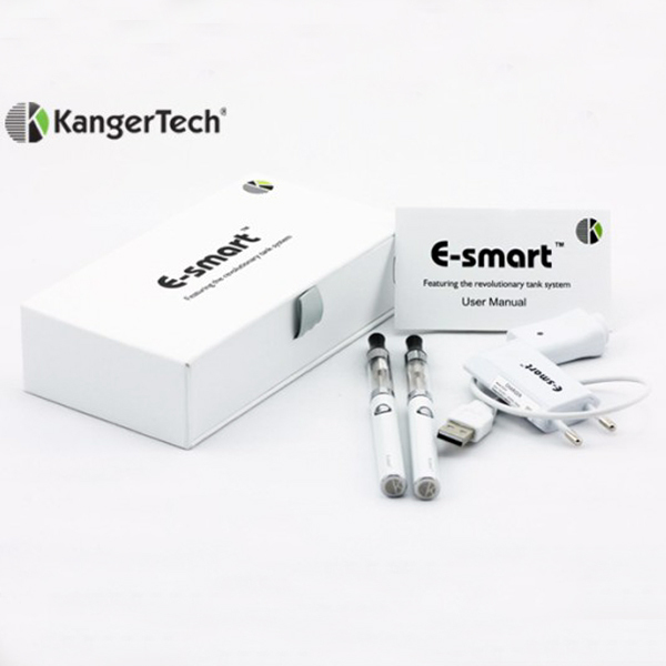 Kanger e-smart e-cig kit original colorful lady's e-cig ESMART 320MAH starter kit in stock