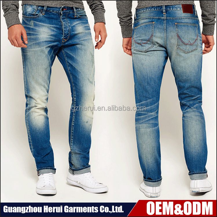 Professional Custom Casual Denim Jeans Pants Pent New Style Fashion OEM Skinny Jeans Trousers For Men