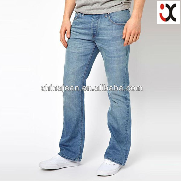 fashion new arrival mens straight jeans no name denim jeans JXL21167