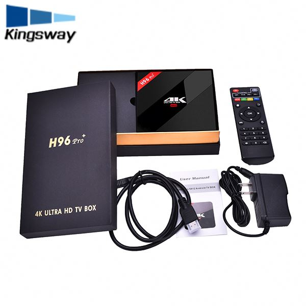 Real factory Android 7.1 Tv Box 3G ram 32G rom Strong WiFi BT 4.0 KD 17.3 octa core Smart TV Box H96 pro plus