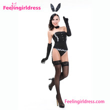 Realistico <span class=keywords><strong>Halloween</strong></span> Bunny Uniforme Coniglio Fancy Dress <span class=keywords><strong>Costumi</strong></span> <span class=keywords><strong>di</strong></span> <span class=keywords><strong>Animali</strong></span>