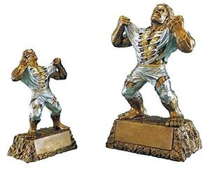 Custom Perfect Victory Award Trophy Hand Painted Design Small Or Large Monster Victory Trophy suppliers