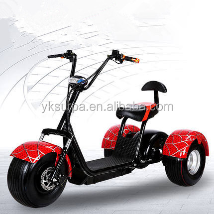 2017 golf cart harley electrric scooter/citycoco electric motorcycle/fat tire e-scooter