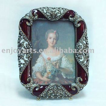 Enamel Jeweled Picture Frame 35x5 Inch P0107035a1 Buy