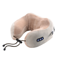2019 New Hot Design Personalized Folding U-shaped Travel Neck Pillow Set