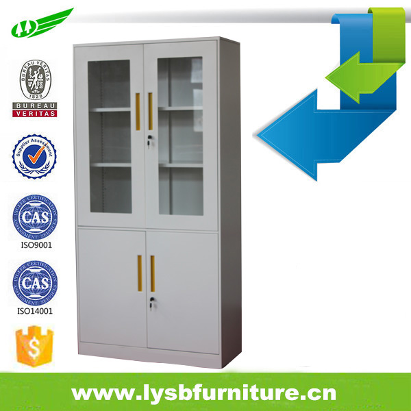 Directly Factory KD Office Steel glass door top 10 cabinet manufacturers