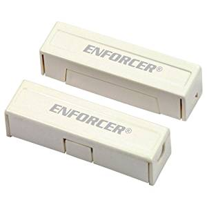 Seco-Larm Enforcer Magnetic Contact, Surface Mount (Concealed), 1-1/4 In. Gap, White