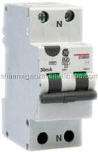 GE RCBO- Electromagnetic leakage protection circuit breaker with over-current protection air circuit breaker