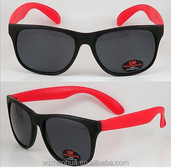fb31711167a9 cheap pinhole promotional custom logo printed lenses sunglasses with AC lens