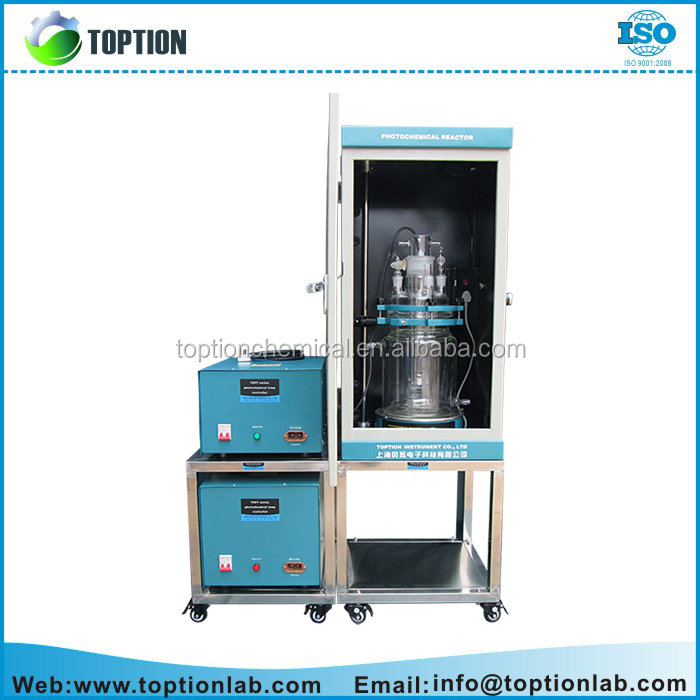 TOPT-V Microreactor uv curing equipment mini lab chemical reactor in Chemosynthesis
